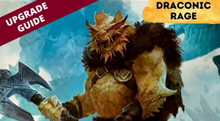 Draconic Rage Upgrade Guide Banner