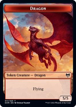 Dragon Kaldheim Tokens