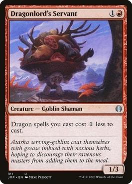 Dragonlord's Servant MTG Dragon Cards