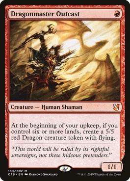 Dragonmaster Outcast Top 10 Best MTG Dragons