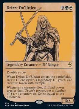 Drizzt Do'Urden Forgotten Realms Collector Booster Box