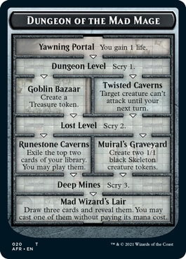 Dungeon of the Mad Mage MTG DND