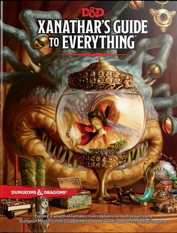 Dungeons and Dragons Beginner's Guide Xanathar's Guide to Everything
