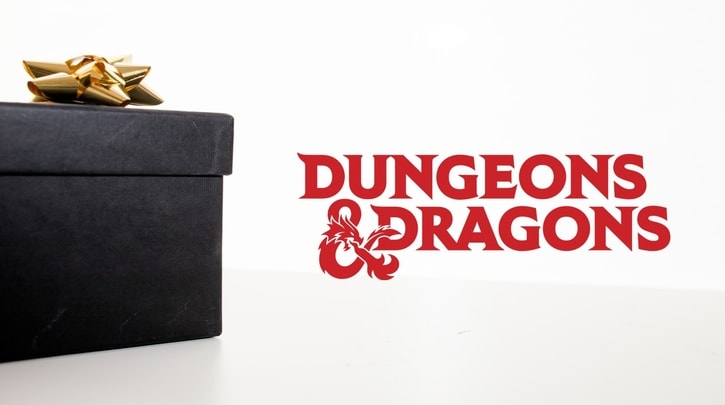 Dungeons and Dragons Gift Guide Banner