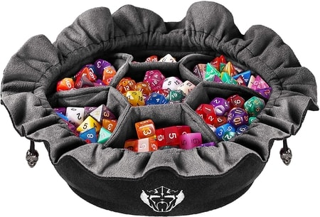 Dungeons and Dragons Gift Organized Dice Bag
