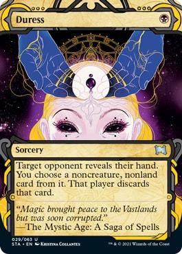 Duress Mystical Archive Card List