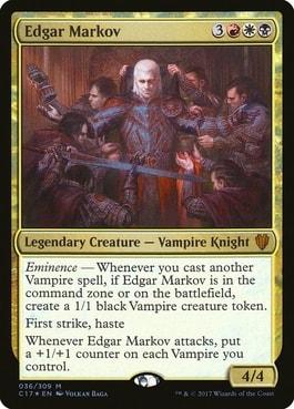 Edgar Markov Best Tribal Vampire Commander