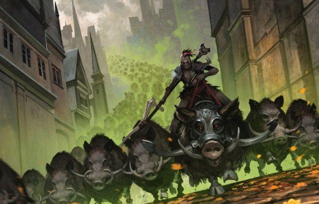 Elder Gargaroth Rhythm of the Wild Decklist