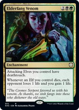 Elderfang Venom Elven Empire New Cards