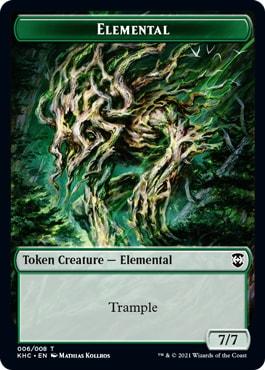 Elemental Kaldeheim Token