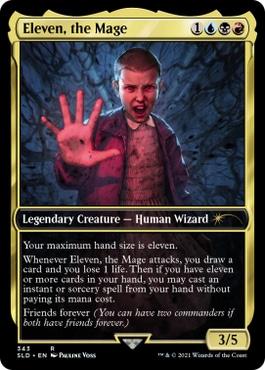 Eleven, the Mage MTG