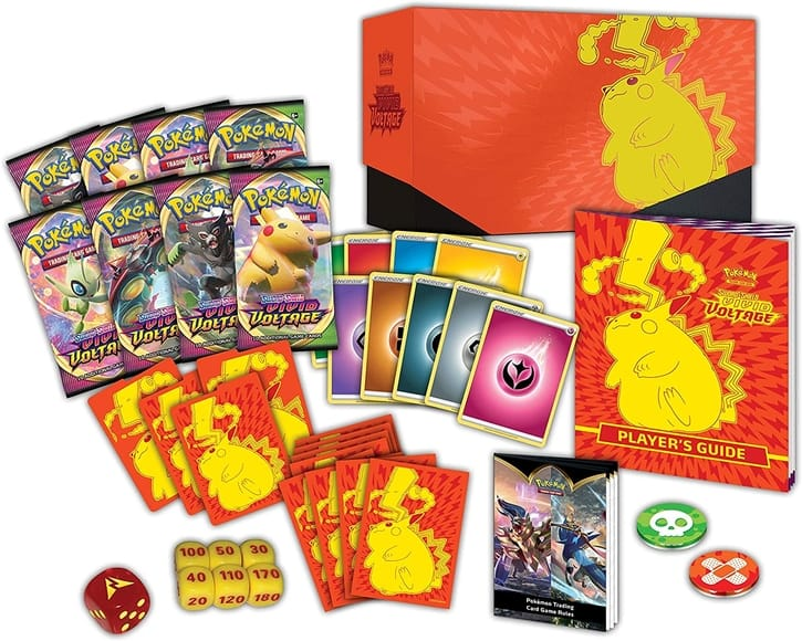 Elite Trainer Box Contents Pokemon Cards