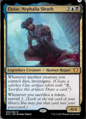 Eloise Innistrad Commander Precon Decklists Zombie Tribal