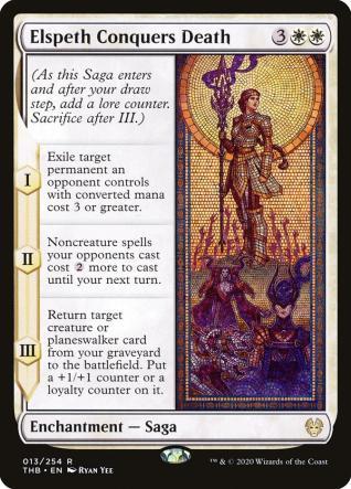 Elspeth Conquers Death MTGA