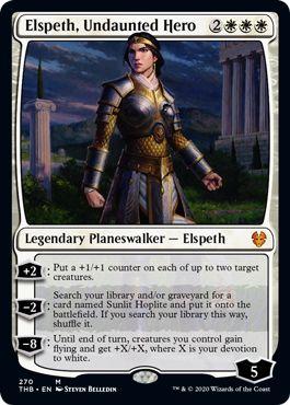 Elspeth Undaunted Hero Upgrade