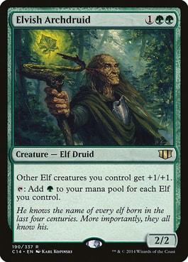 Elvish Archdruid Elven Empire Upgrade