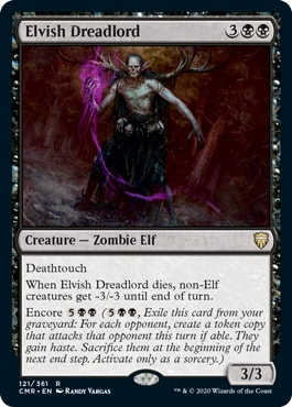 Elvish Dreadlord Commander Legends All Cards