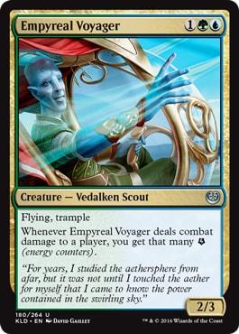 Empyreal Voyager Kaladesh Remastered Draft Archetypes