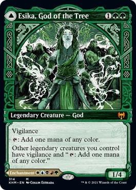 Esika God of the Tree Kaldheim Showcase Styles
