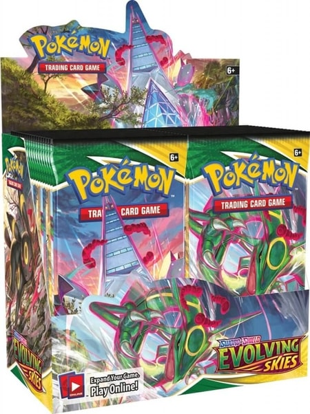 Evolving Skies Newest Pokemon Booster Box August 2021