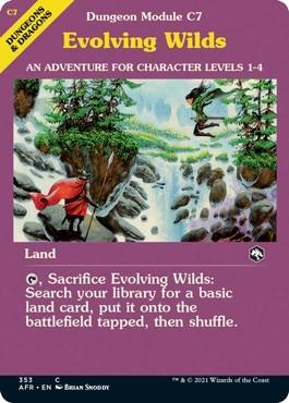 Evolving Wilds MTG DND Module Styles