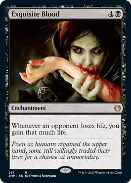 Exquisite Blood Jumpstart Spoilers Booster