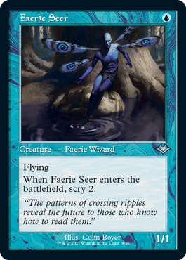 Faerie Seer Old Border Modern Horizons 2 Cards List