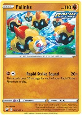 Falinks Best Cards Battle Styles Pokemon TCG