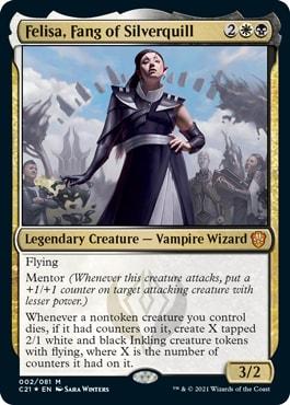 Felisa, Fang of Silverquill Strixhaven Commander 2021 Which Deck is Best