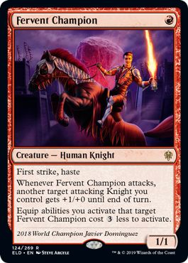 Fervent Champion What to Craft on MTG Arena Wildcards