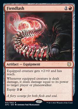 Fiendlash Forgotten Realms Commander Deck Spoilers