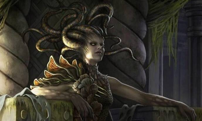 Final Adventure Upgrade Vraska Golgari Queen Banner