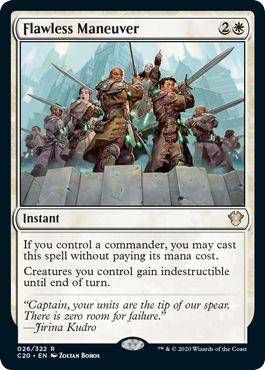 Flawless Maneuver MTG best free cards zero mana Commander