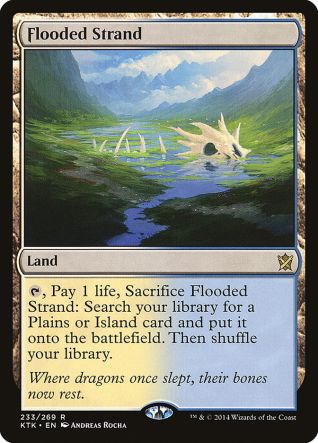 Flooded Strand Best Booster Box Khans of Tarkir for Drafting