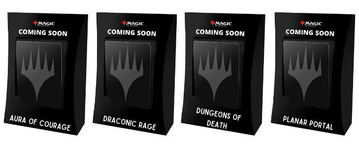 Forgotten Realms Arena Relase Time Commander Decks