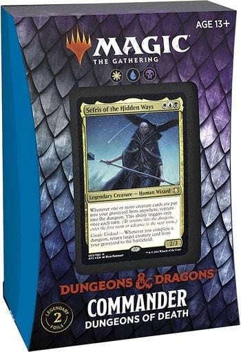 Forgotten Realms Commander Deck Decklist Dungeons of Death