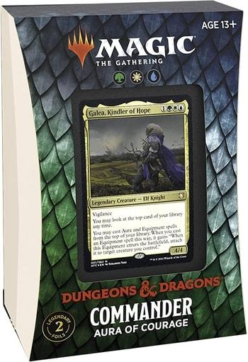 Forgotten Realms Commander Decklist Aura of Courage