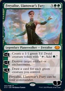 Freyalise Llanowars Fury Commander Collection Green Spoilers
