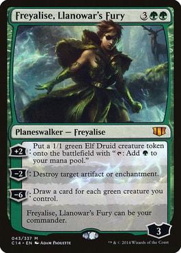 Freyalise, Llanowar's Fury Elf Tribal in Commander Elven Empire Upgrade