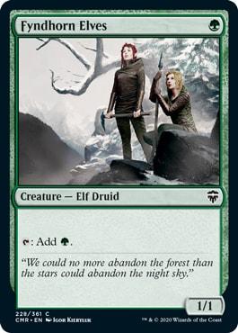 Fyndhorn Elves Commander Legends All Cards