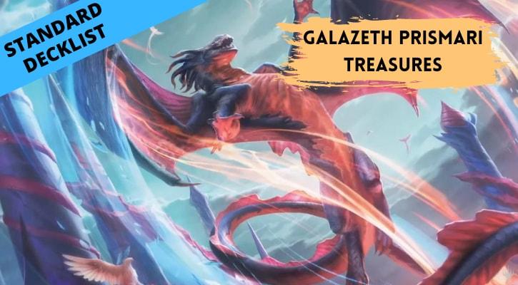 Galazeth Prismari Treasures Standard Decklist Banner