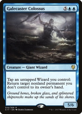 Galecaster Colossus Wizard Tribal MTG Best Wizards