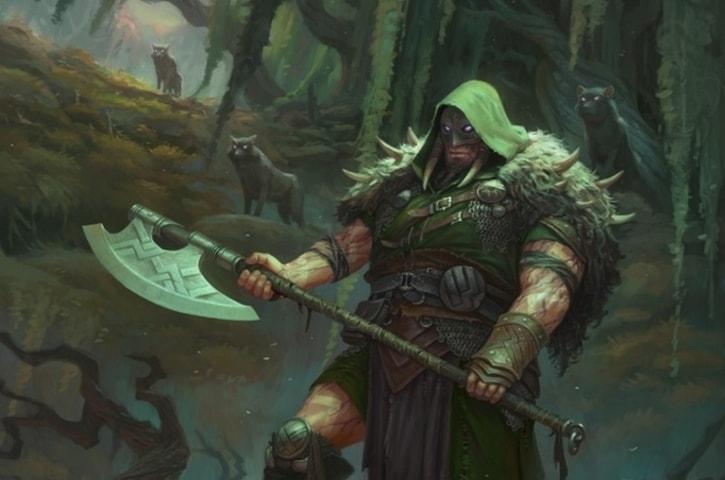 Garruk Cursed Huntsman Brawl Decklist