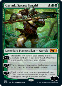 Garruk Savage Herald Planeswalker Decks Core 2021 Upgrade Guide