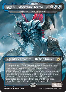 Gigan, Cyberclaw Terror MTG Godzilla Cards
