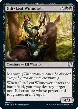 Gilt-Leaf Winnower Commander Legends All Cards