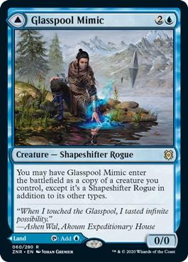 Glasspool Mimic Best Commander Cards from Zendikar Rising