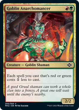 Goblin Anarchomancer How to Draft Storm in Modern Horizons 2 Draft