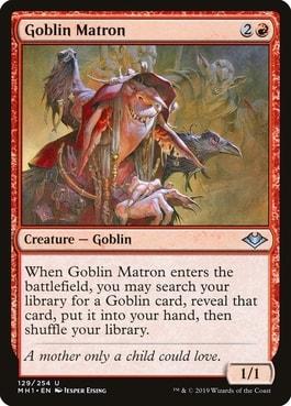 Goblin Matron Top 10 Best MTG Goblin Tribal Cards