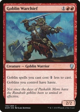 Goblin Warchief Best Goblin Lords